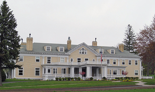 Endicott Estate, ca. 1904, 656 East Street, Dedham, MA, National Register