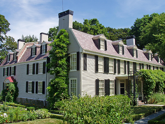 The Old House at Peacefield, ca. 1731, Quincy, MA
