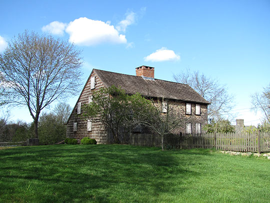 Bradford House, ca. 1714, 50 Landing Road, Kingston, MA, National Register