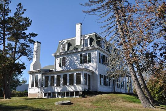 Tobey Homestead, ca. 1825, Main Street, Wareham, MA, National Register
