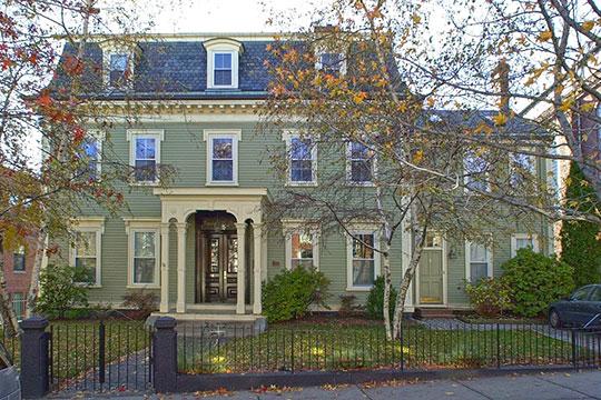 Francis B. Austin House, ca. 1832, 58 High Street (Charlestown), Boston, MA, National Register