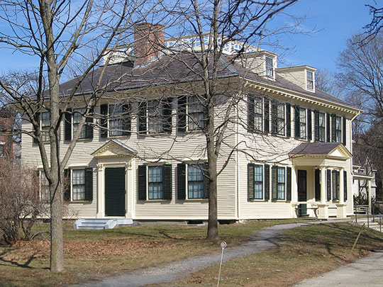 Loring-Greenough House, ca. 1760, 12 South Street (Jamaica Plain), Boston, MA, National Register