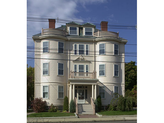 Immaculate Conception Rectory, ca. 1901, 108 Beach Street, Revere, MA, National Register