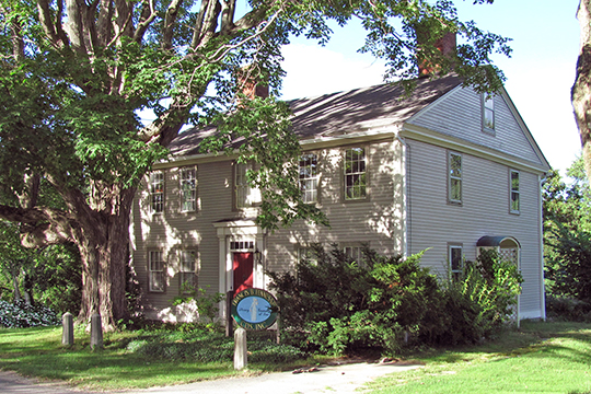 John Spurr House, ca. 1798, 27 Main Street, Charlton, MA, National Register