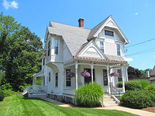 William E. Alden House, ca. 1882, 428 Hamilton Street, Southbridge, MA.