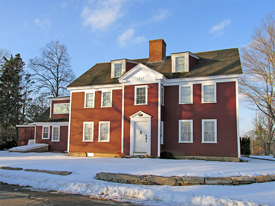 Waters Farm, ca. 1757, 53 Waters Road, Sutton, MA, National Register