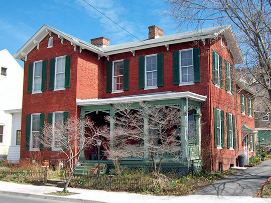 Francis Haley House, ca. 1870, 634 Maryland Avenue, Cumberland, MD, National Register