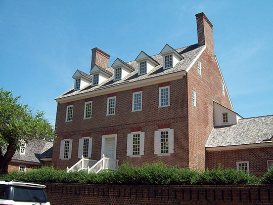 William Paca House and Garden, ca. 1764, 186 Prince George Street, Annapolis, MD, National Register