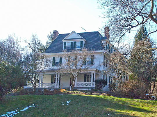 The Wilderness, ca. 1800, 2 Thistle Road, Catonsville, MD, National Register