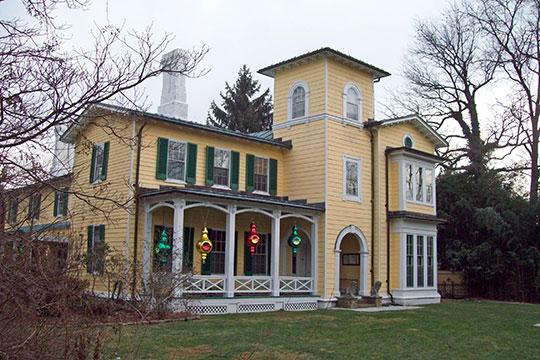 Villa Anneslie, ca. 1855, 529 Dunkirk Road, Towson, MD, National Register