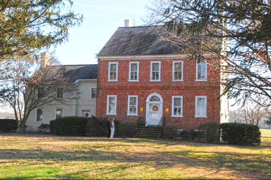 Willow Grove (Matthew Driver, Jr. House), ca. 1790, Route 457, Greensboro, MD, National Register