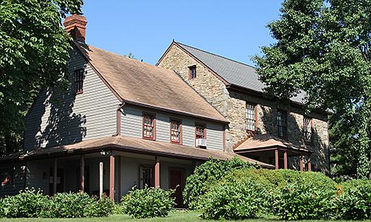Moses Brown House, ca. 1785, 7604 Ridge Road, Eldersburg, Carroll County, MD, National Register