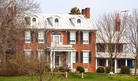 mt pleasant,national register,1815,farquhar family,union bridge, carroll county,md