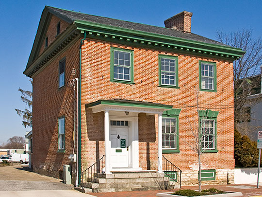 Mitchell House, ca. 1769, 131 East Main St., Elkton, Maryland, National Register