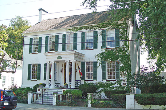 Goldsborough House, ca. 1793, 200 High Street, Cambridge, MD, National Register