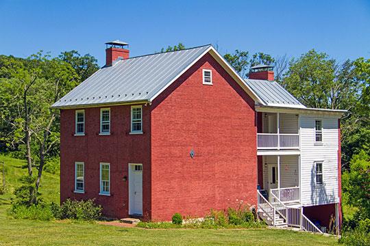 John Eyler Farmstead, ca. early 1800s, 7216 Eylers Valley Flint Road, Thurmont, MD, National Register