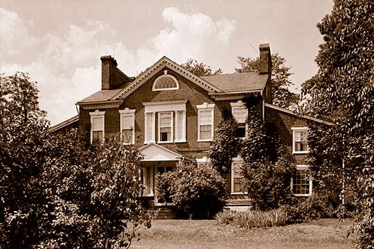 Scion Hill, ca. 1785/1806, 2026 Level Road, Havre de Grace, MD, National Register