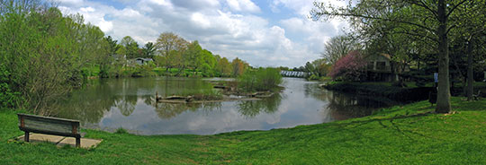 Wilde Lake (man-made), Wilde Lake Village, Columbia, Maryland