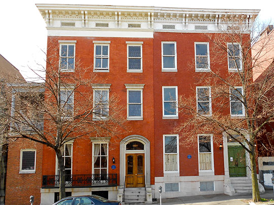 Homes on Eutaw Place, Bolton Hill Historic District, Baltimore, MD, National Register