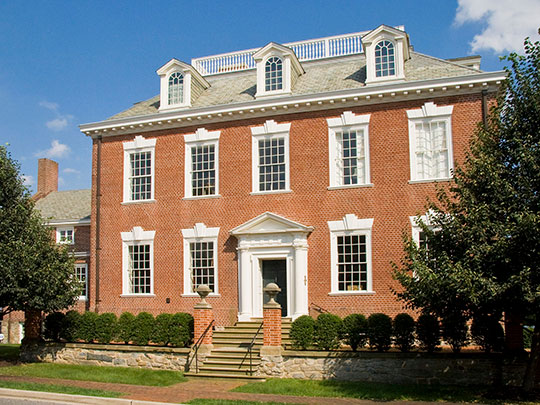 Widehall, ca. 1769, 101 Water Street, Chestertown, MD., National Register