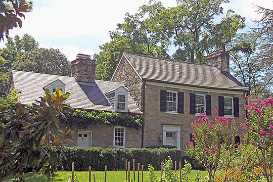 Milton (Loughborough House), ca. 1829 & 1847, 5312 Allandale Road, Bethesda, MD, National Register