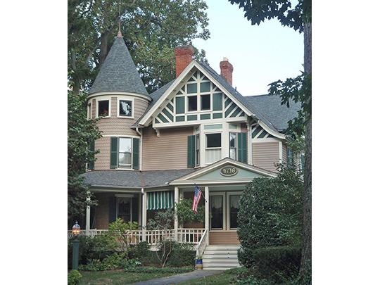 Home in the Garrett Park Historic District, Garrett Park, MD