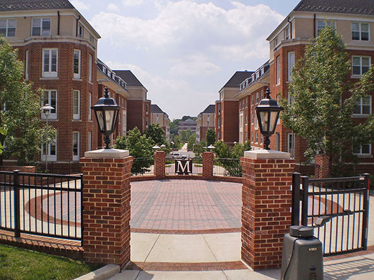 University of Maryland, South Commons Residential Area, College Park, MD
