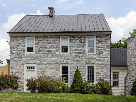 Rockland Farm (Davis House, Funk Farm), ca, 1773, near Hagerstown, Washington County, MD, National Register