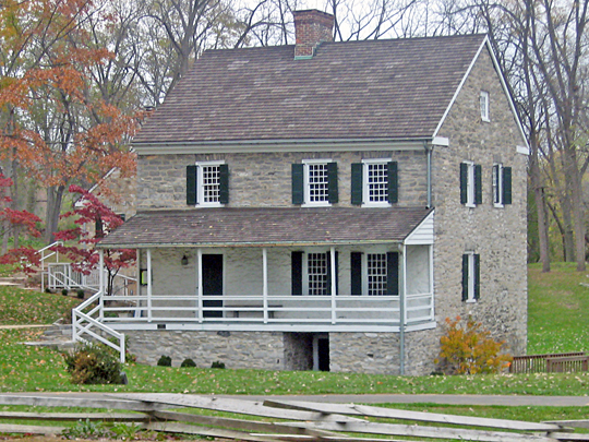 Hager House and Museum, ca. 1740, Hagerstown City Park, Hagerstown, MD, National Register