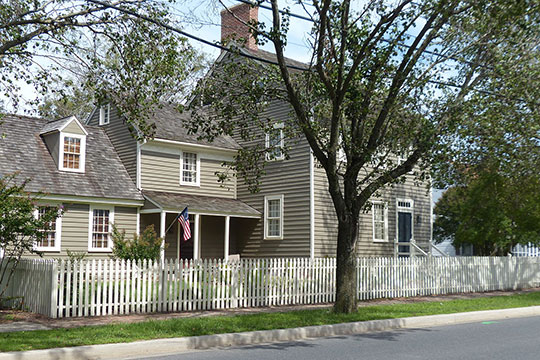 Samuel Gunn House, ca. 1780, 200 West Market Street, Snow Hill, MD, National Register