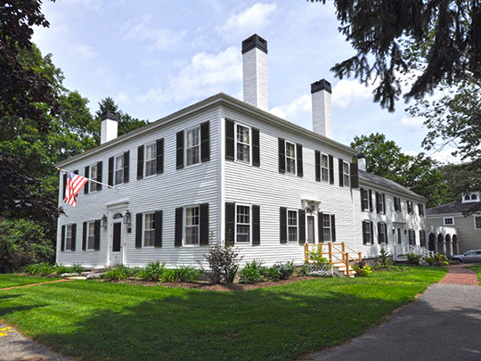 Parker Cleaveland House, ca. 1806, 75 Federal Street, Brunswick, ME, National Register