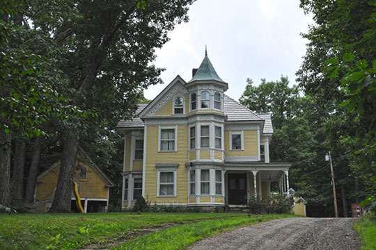 Chester Greenwood House, ca. 1896, Route 27, Farmington, ME, National Register