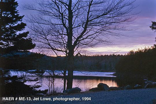 Jet Lowe, 1994, HAER, ME-13