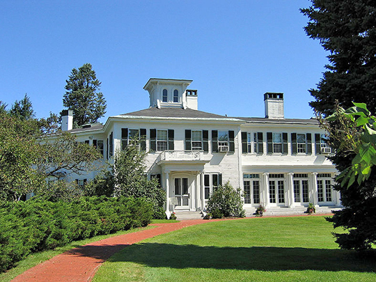 James G. Blaine House (Governors Mansion), ca. 1833, Capitol and State Streets, Augusta, ME, National Register