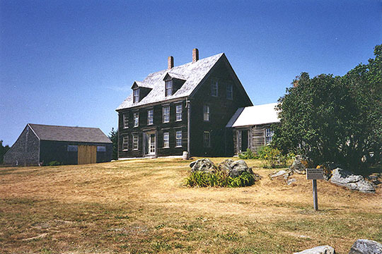 Olson House, ca. 1871, Hathorne Point Road, Cushing, ME, National Register