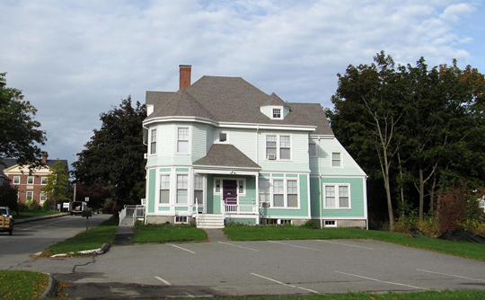 Edward Butler House, ca. 1888 (William H. Glover & Company, Builders), 5 Beech Street, Rockland Residential Historic District, Rockland, ME, National Register