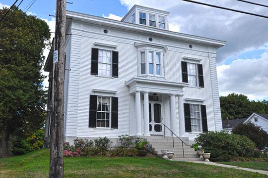 Homes on Wood Street, Burlington Historic District, Burlington, NJ, National Register