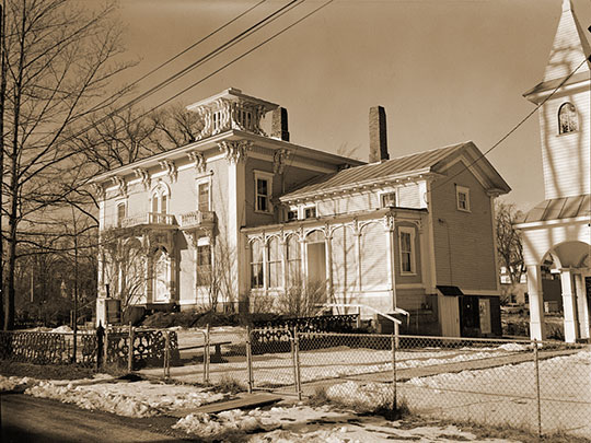 Thomas Jefferson Southard House, ca. 1855, 17 Church Street, Richmond, ME