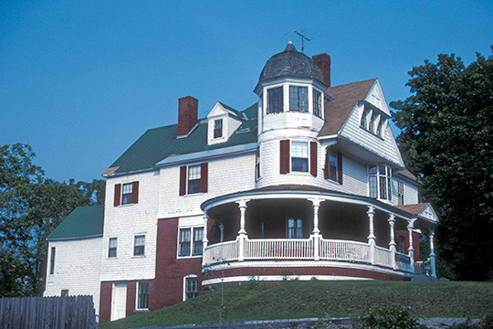 Gould House, ca. 1887, 31 Elm Street, Skowhegan ME, National Register