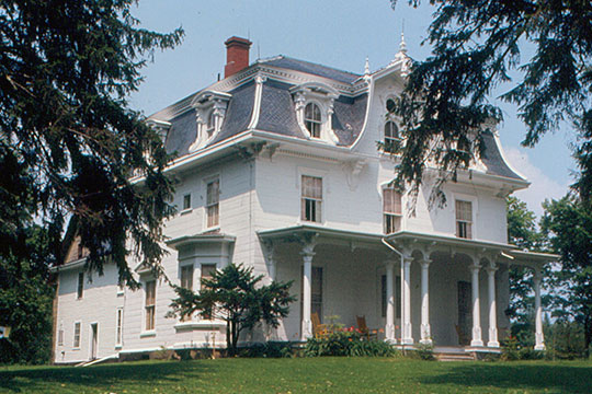 Capt. William McGilvery House, ca. 1873, 134 East Main Street, Searsport, ME, National Register