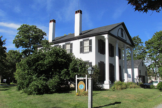 Thatcher-Goodale House, ca. 1826, 121 North Street, Saco, Maine, National Register