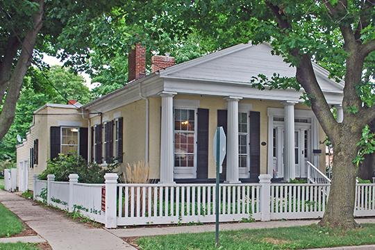 Wright-Brooks House, ca. 1842, 122 North High Street, Marshall, MI, National Register