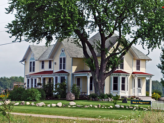 John Pulcipher House, ca. 1883, 7710 US Route 31 North, Acme Township, Grand Traverse County, MI, National Register