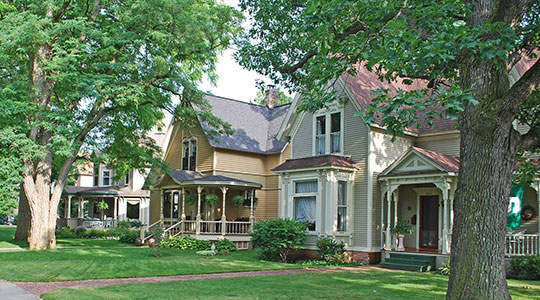 Homes on 5th Street, Central Neighborhood Historic District, Traverse, MI, National Register