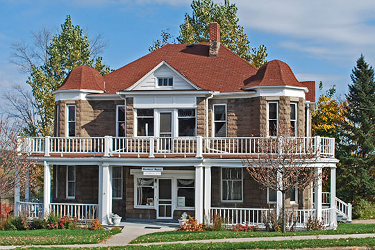 Timothy Murphy House (Harbour House), ca. 1900, 17 North 4th Street, Crystal Falls, MI, National Registerq