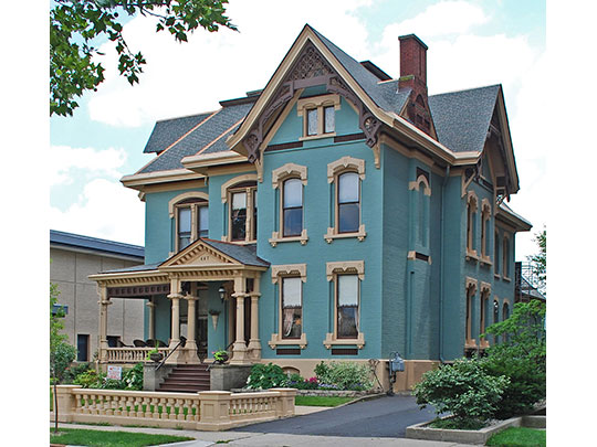 David Lilienfeld House, ca. 1878, 447 West South Street, Kalamazoo, MI, National Register