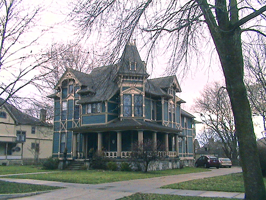 heritage hill historic district,  national register, grand rapids, michigan