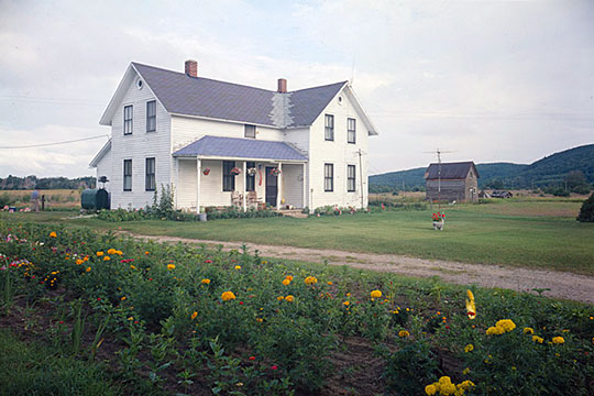 Lawr Farm House, ca. 1890s, Sleeping Bear Dunes National Lakeshore, Port Oneida, MI