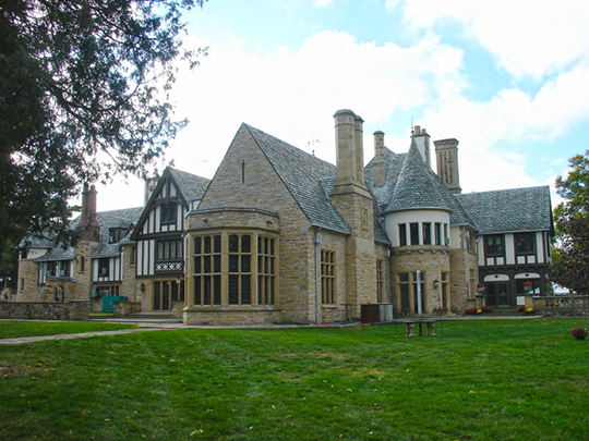 Scripps Mansion (William Edmund and Nina A. Downey Scripps Estate), ca. 1927, 1840 Scripps Road, Lake Orion, MI, National Register