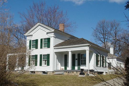 Royal Aldrich House, ca. 1920, 31110 West 11 Mile Road, Farmington, MI, National Register